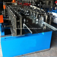 Supermarket Storage Shelf Baffle Plate Roll Forming Machine